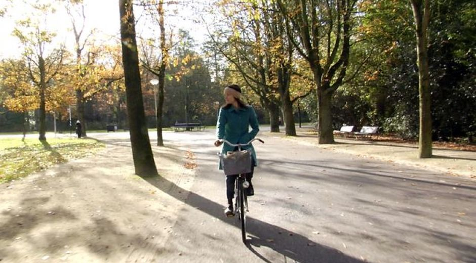Cycling with Meredith