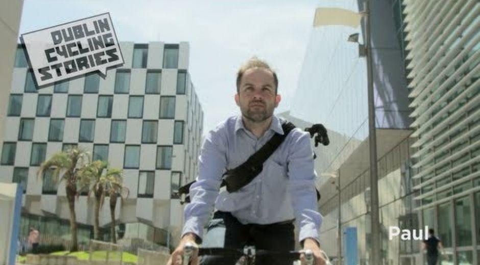 Dublin Cycling Stories - Paul