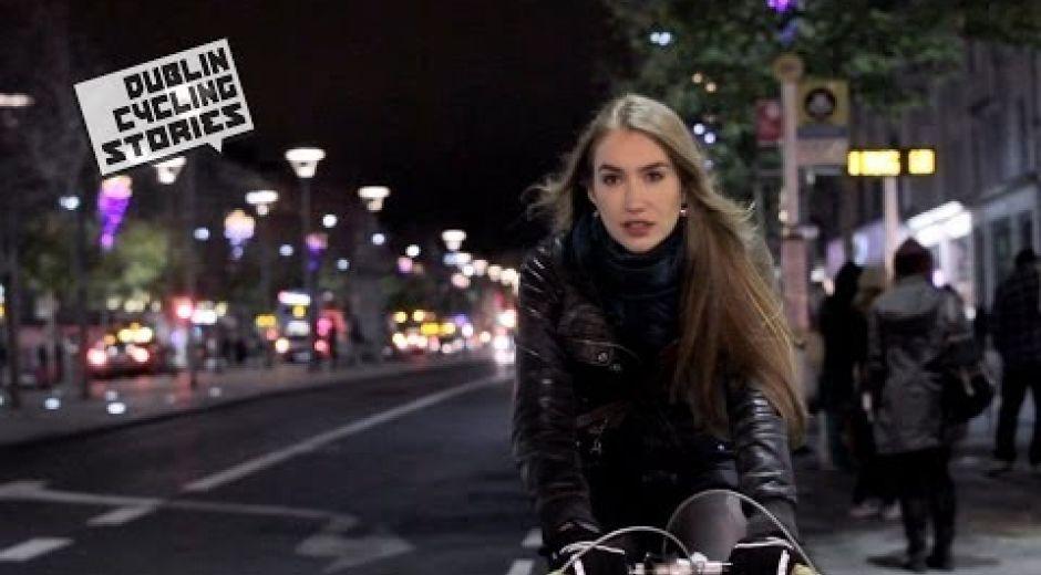 Dublin Cycling Stories - Julie