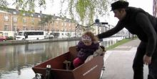 delivery bicycle - dads and princesses on bear's delivery bicycle.mov